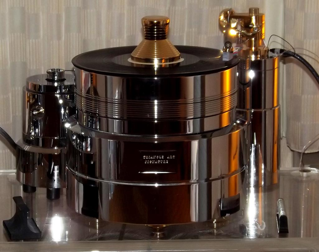 Triangle Art Signature SE turntable ($12,500) at RMAF 2013