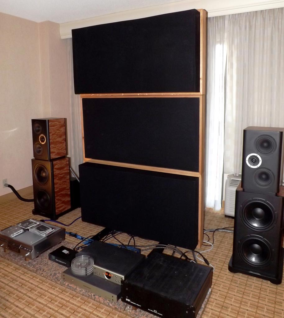 Dupuy Acoustique showing Conga speakers at RMAF 2013