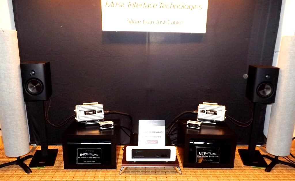 MIT (Musical Interface Technologies) and Magico Q1 speakers at RMAF 2013