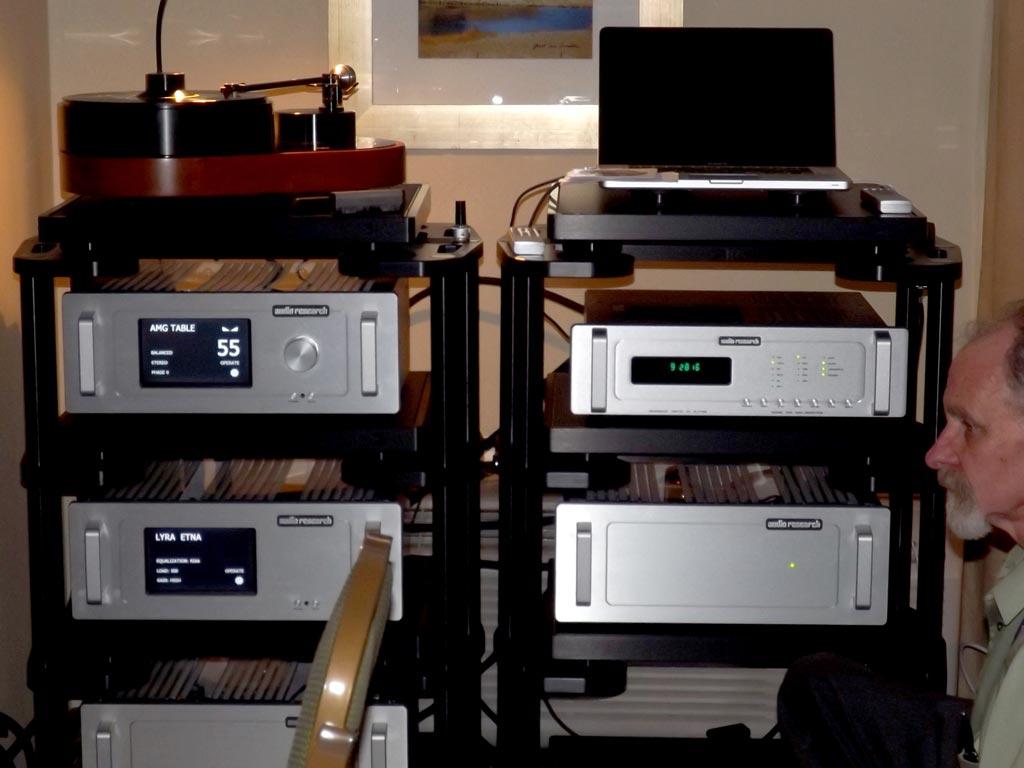 Vandersteen - Audio Research - AMG - Audioquest
