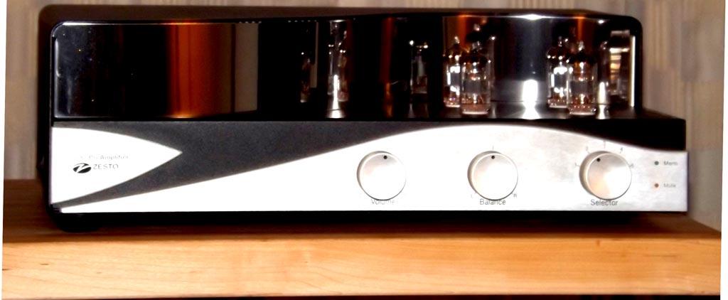 Zesto Audio Leto Pre-amplifier at RMAF 2013