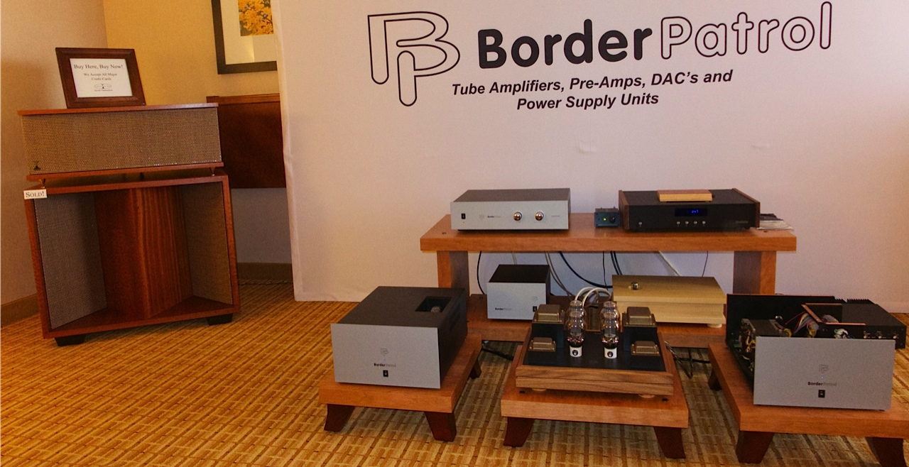 Volti Audio Speakers and Border Patrol Electronics at RMAF 2013