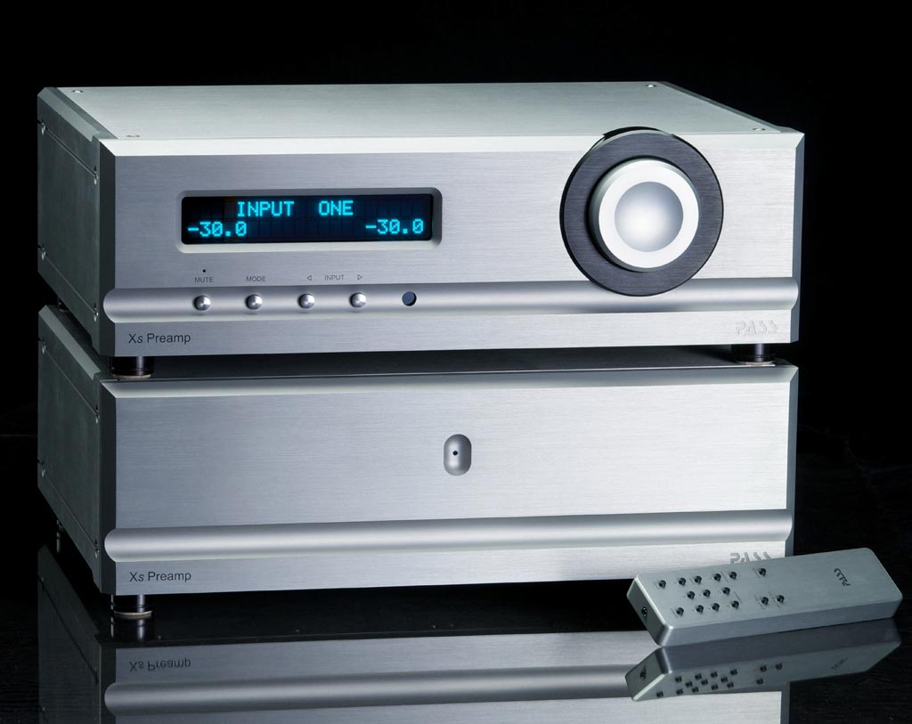 Pass Labs Xs Series Preamplifier