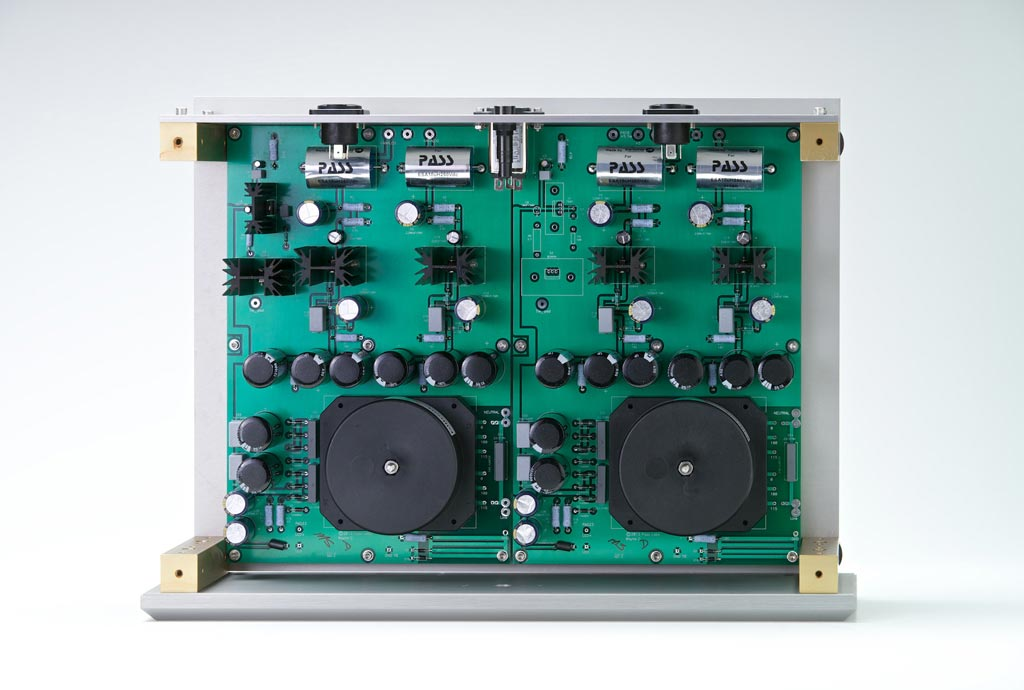 Pass Labs Xs Series Preamplifier Power Supplies Top View