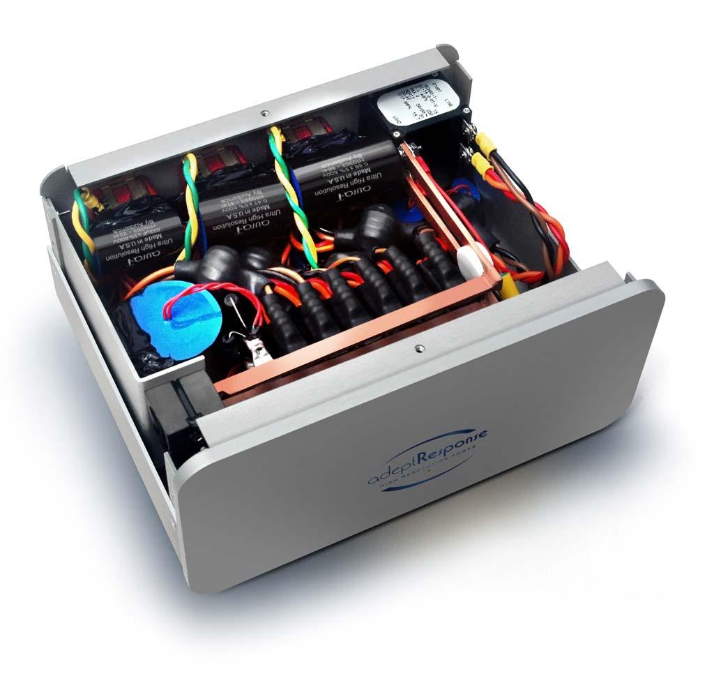 Audience adeptResponse aR6-TSS Power Conditioner View Inside