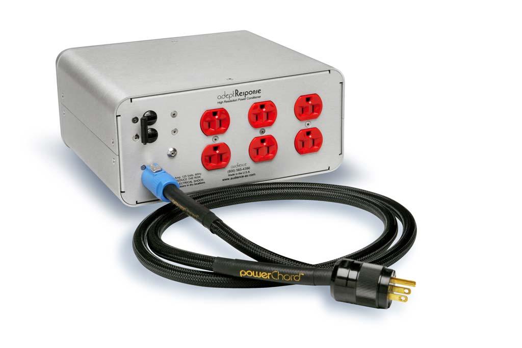 Audience adeptResponse aR6-TSS Power Conditioner Rear Panel