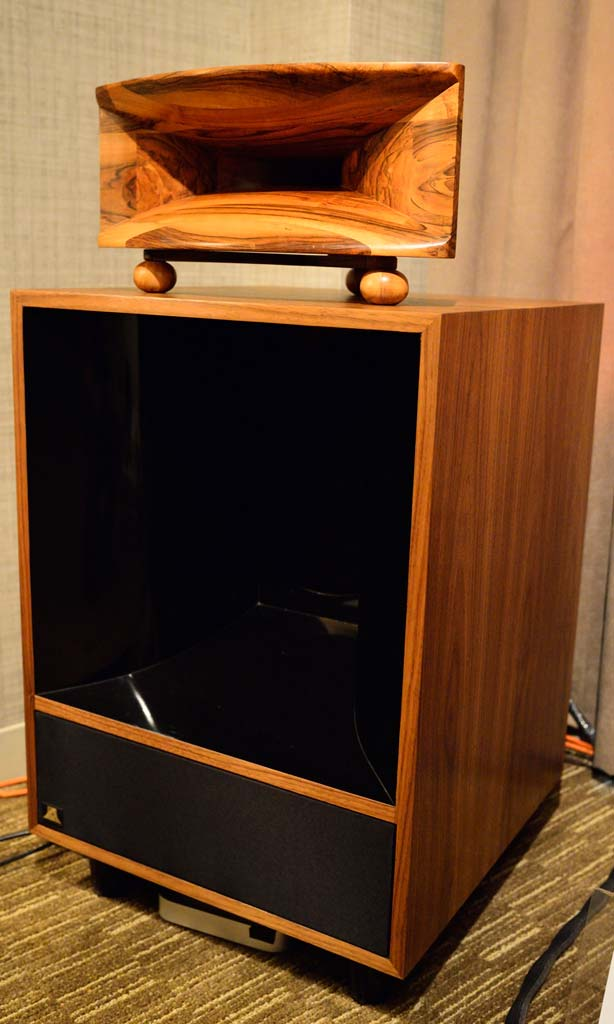 Burwell & Sons Custom Altec Speakers at CAS4- Full Speaker