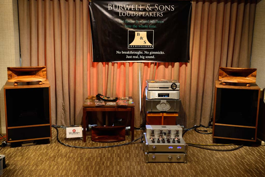 Burwell & Sons Custom Altec Speakers at CAS4