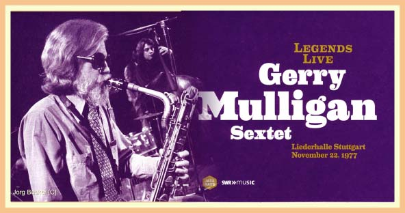 Gerry Mulligan Sextet - Vinyl in print from Jazz Haus Review