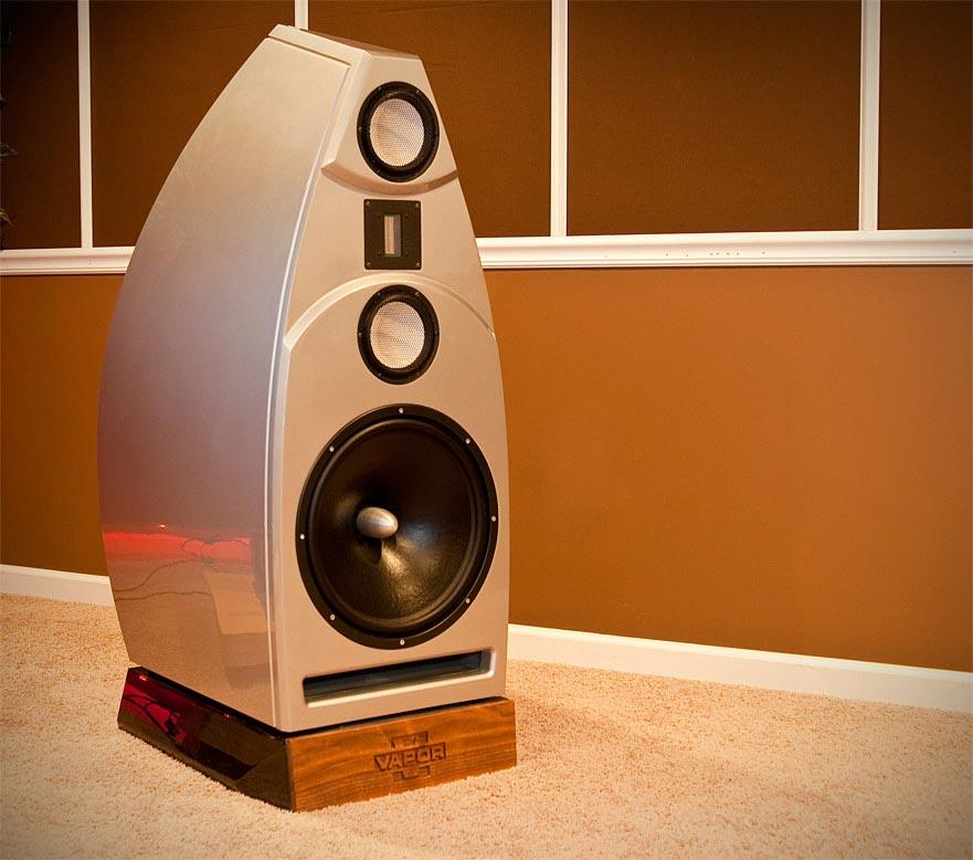 Vapor Audio Nimbus White Speaker