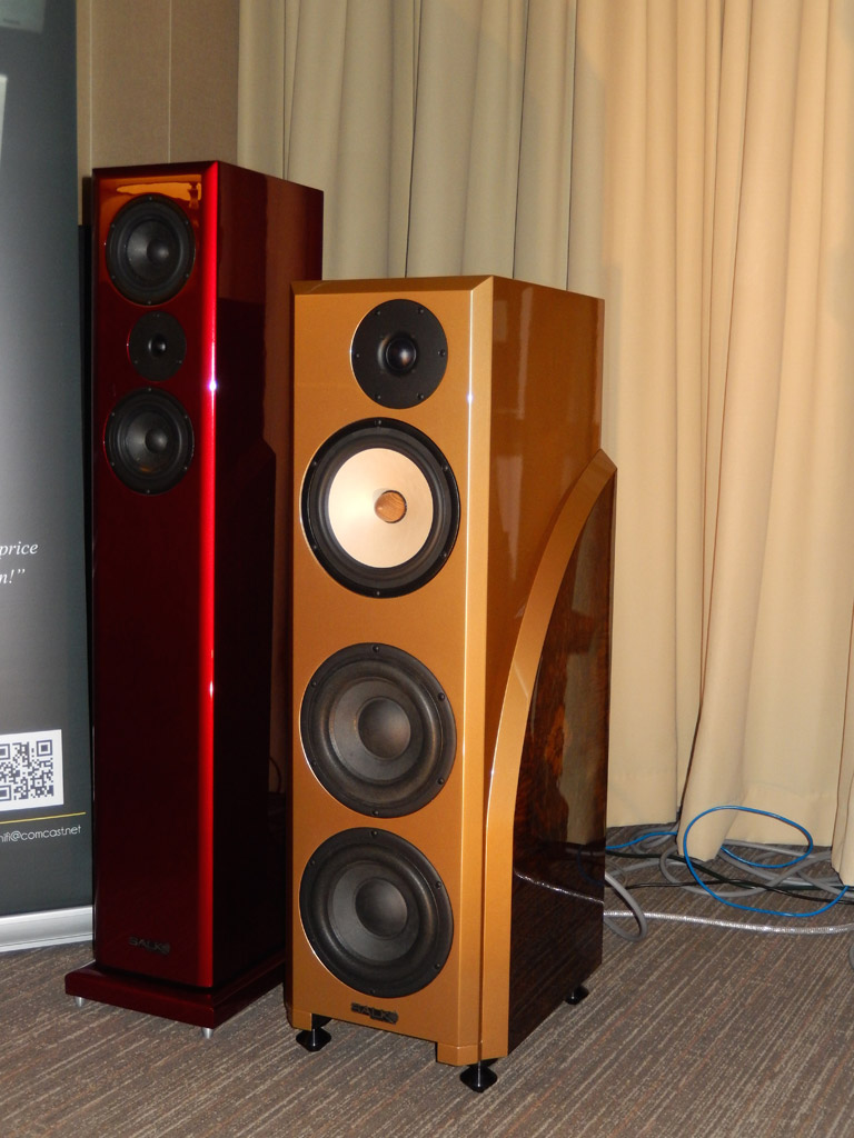 Salk Speaker and Audio by Van Alstine at Axpona 2014