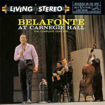 Harry Belafonte Belafonte At Carnegie Hall The Complete Concert Analogue Productions 200g 2LP