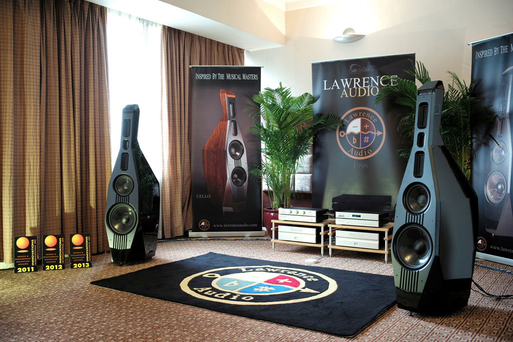 Lawrence Audio Double Bass Speakers